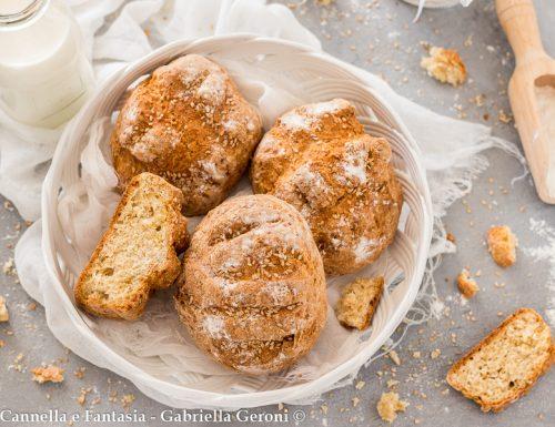 Panini senza lievito croccanti ricetta veloce (soda bread)
