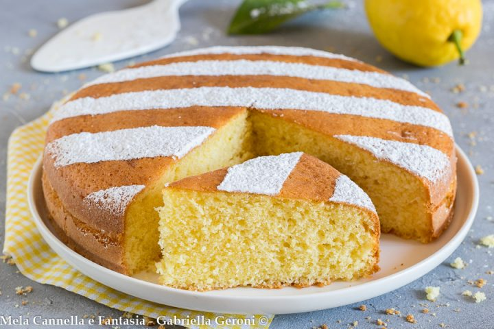 torta al limone sofficissima