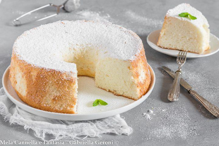 angel cake ricetta