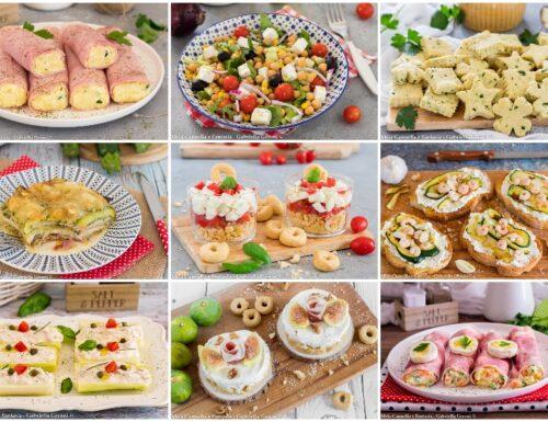 Antipasti estivi ricette facili veloci e sfiziose
