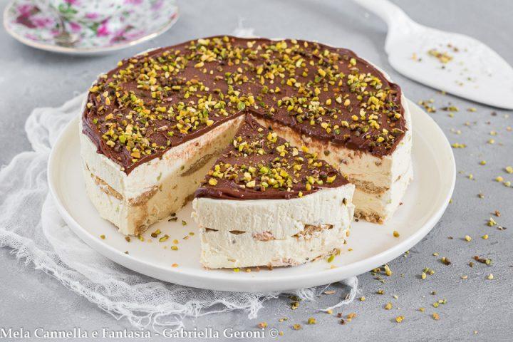 torta semifreddo al pistacchio