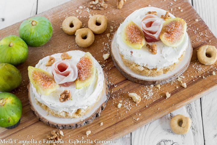 cheesecake gorgonzola
