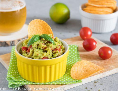 Salsa guacamole ricetta senza cottura pronta in 5 minuti
