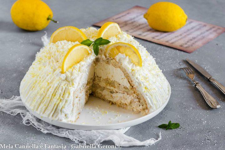 zuccotto al limone