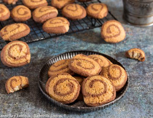 Biscotti girella senza burro