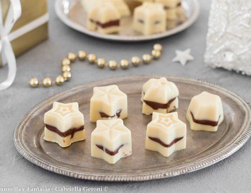 Cioccolatini bianchi ripieni di nutella fatti in casa golosissimi