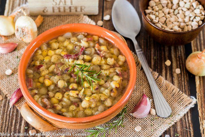 minestra di cicerchia ricetta