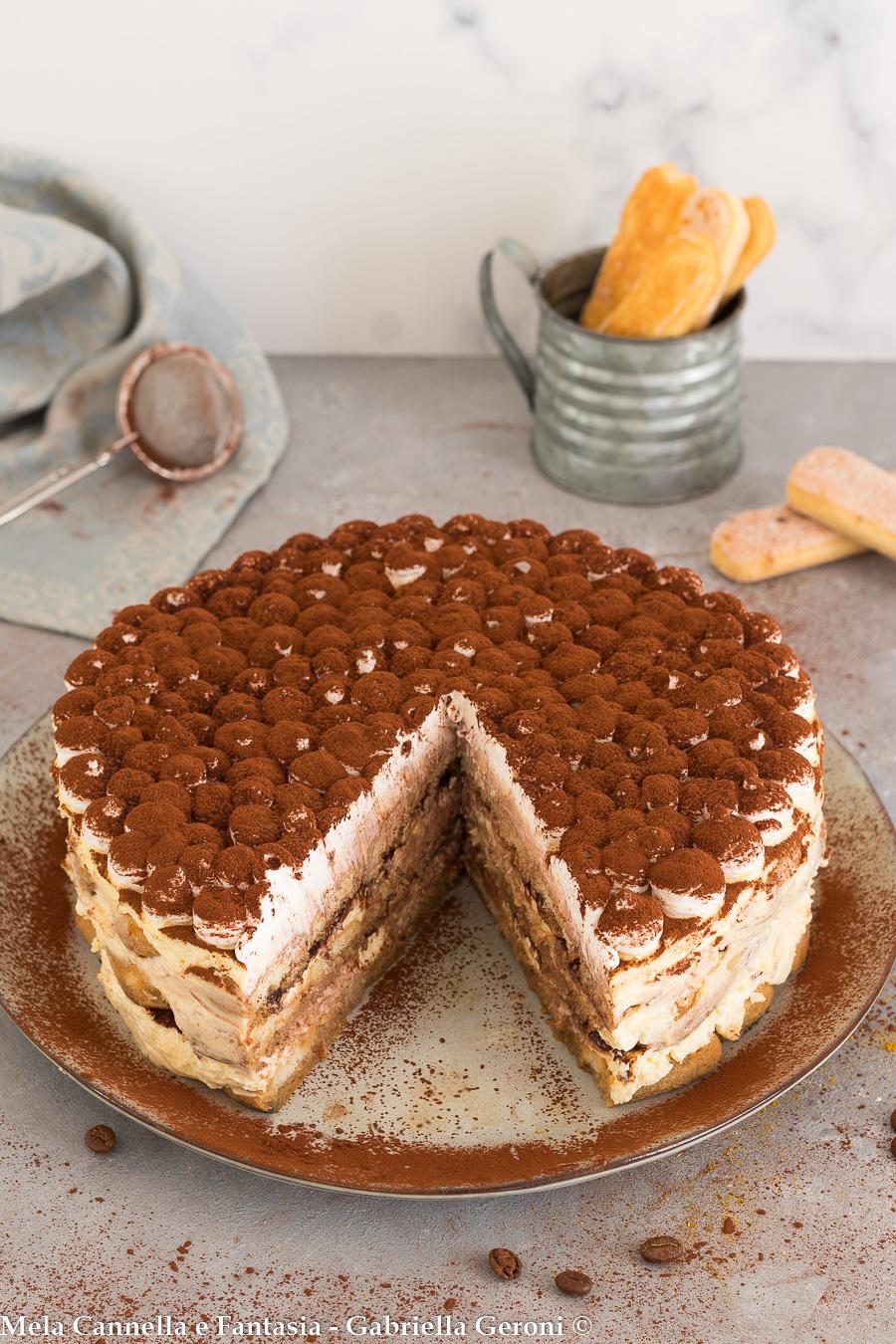 torta tiramisù senza cottura