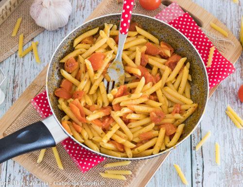 One pot pasta al pomodoro con metodo di cottura a freddo