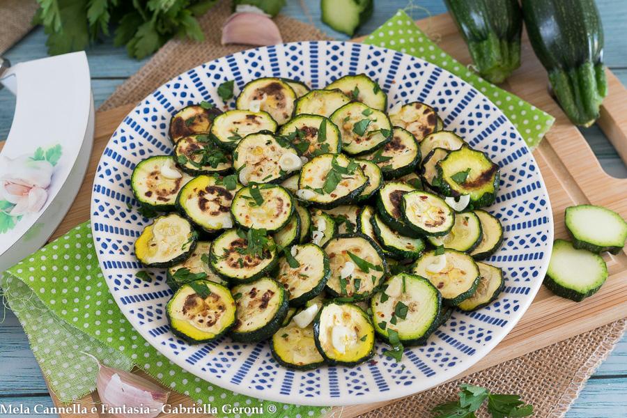 zucchine alla scapece senza frittura