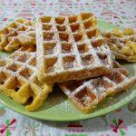 waffle alla zucca