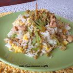 riso con broccoli e pollo