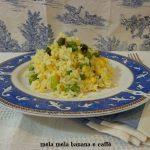 riso con asparagi e uova
