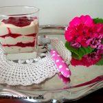 dessert ai lamponi