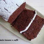 plumcake al cioccolato e panna