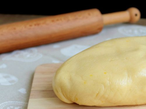 Pasta frolla vegana
