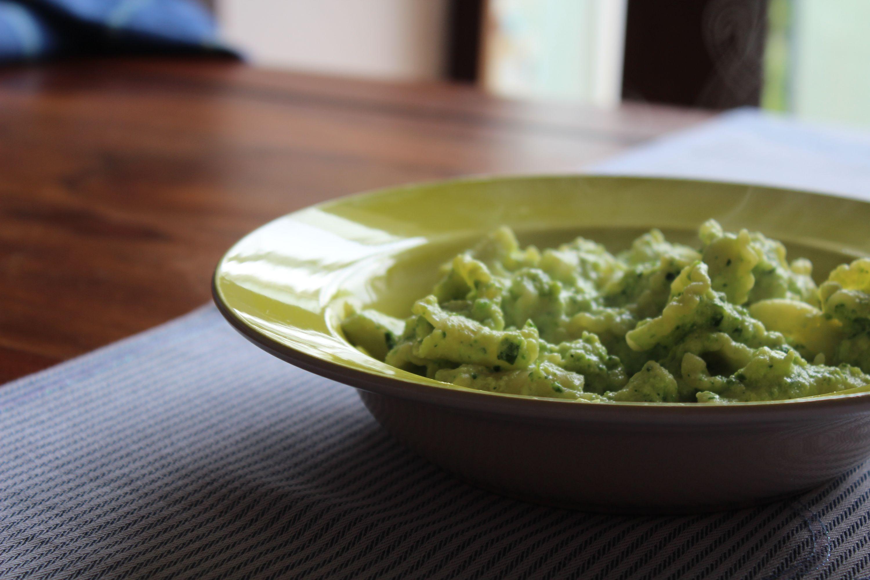 Pasta ricotta e zucchini