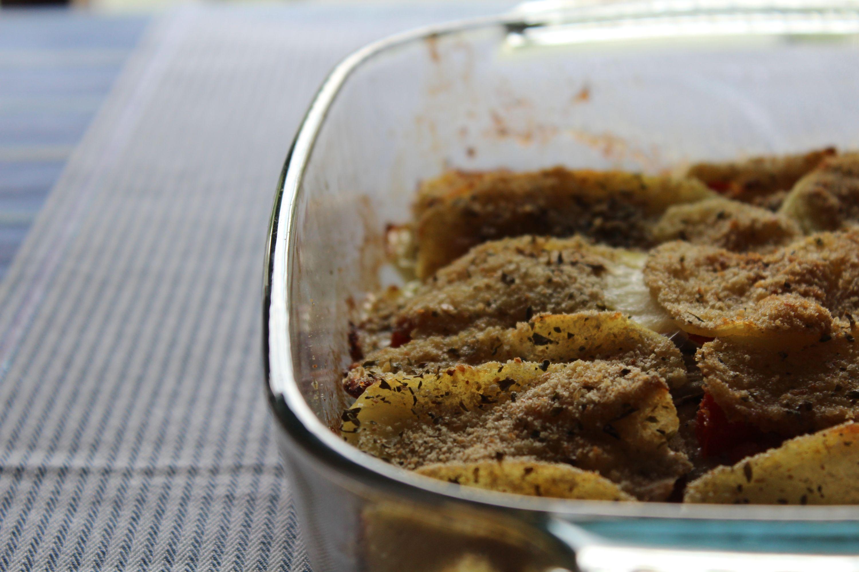 Tortino di sardine e patate