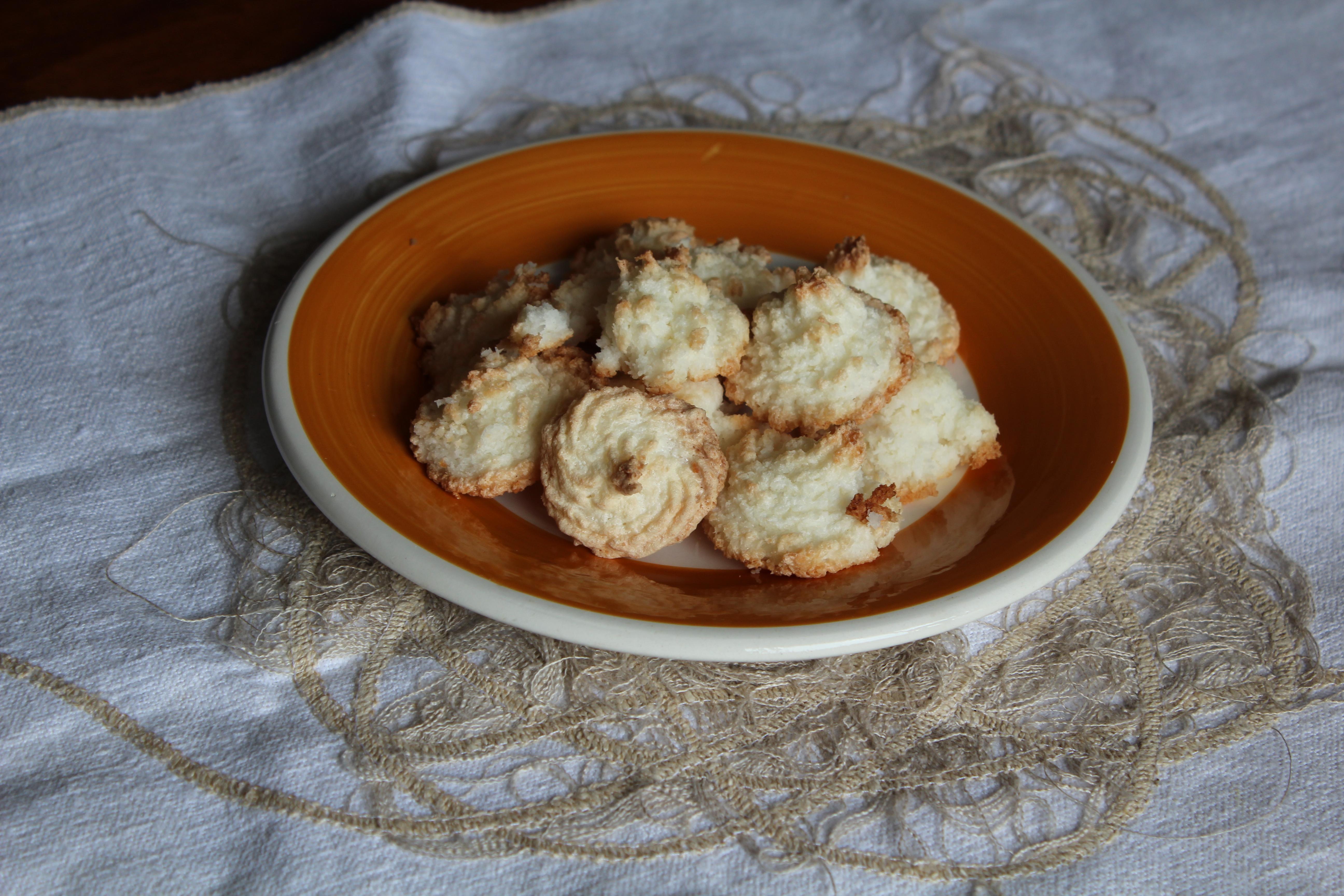 Biscotti al cocco senza grassi