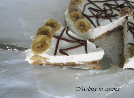 Torta di yogurt alla banana