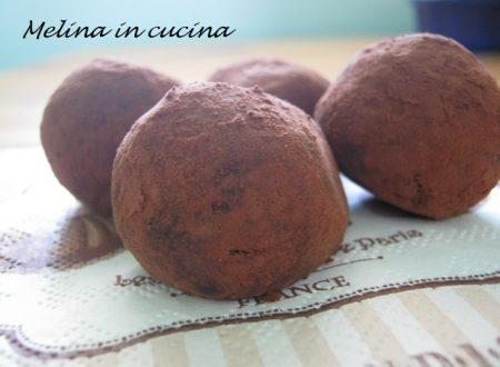 Palline al cacao aromatizzate