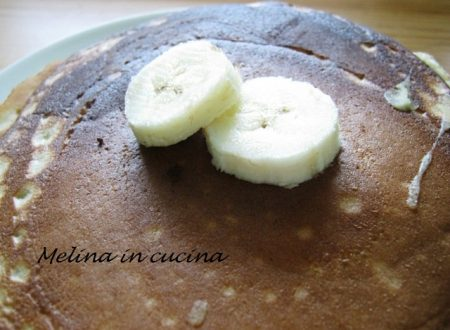 Pancakes alla banana