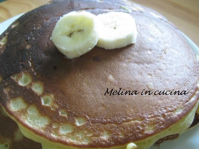 Pancakes alla banana (4)