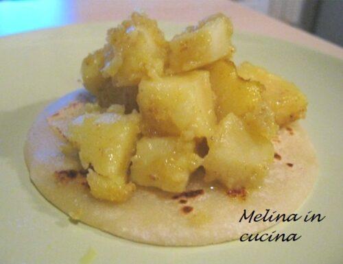 Torrette di patate al curry
