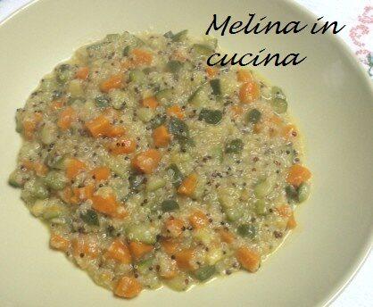 Quinoa con le verdure