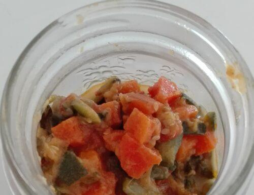 Ricetta per verdure sempre pronte