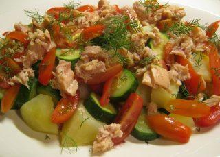insalata di patate sfiziosa