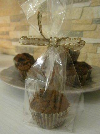muffin al caffè cacao e noci