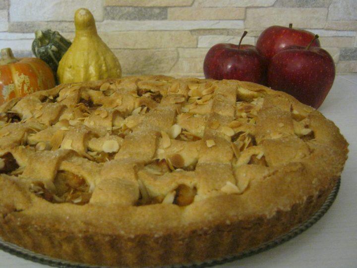 Crostata con marmellata di zucca e mele