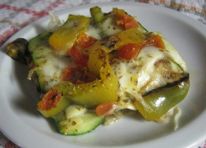 parmigiana bianca di verdure