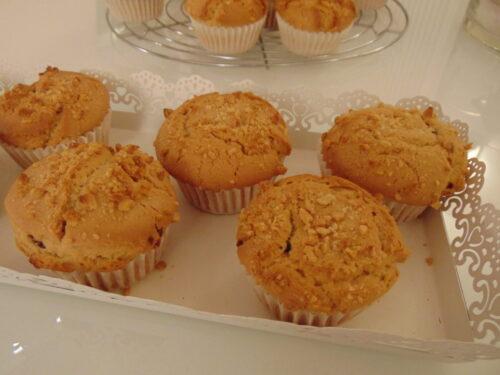 Muffin al burro di arachidi