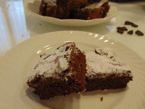 Brownie ai due cioccolati