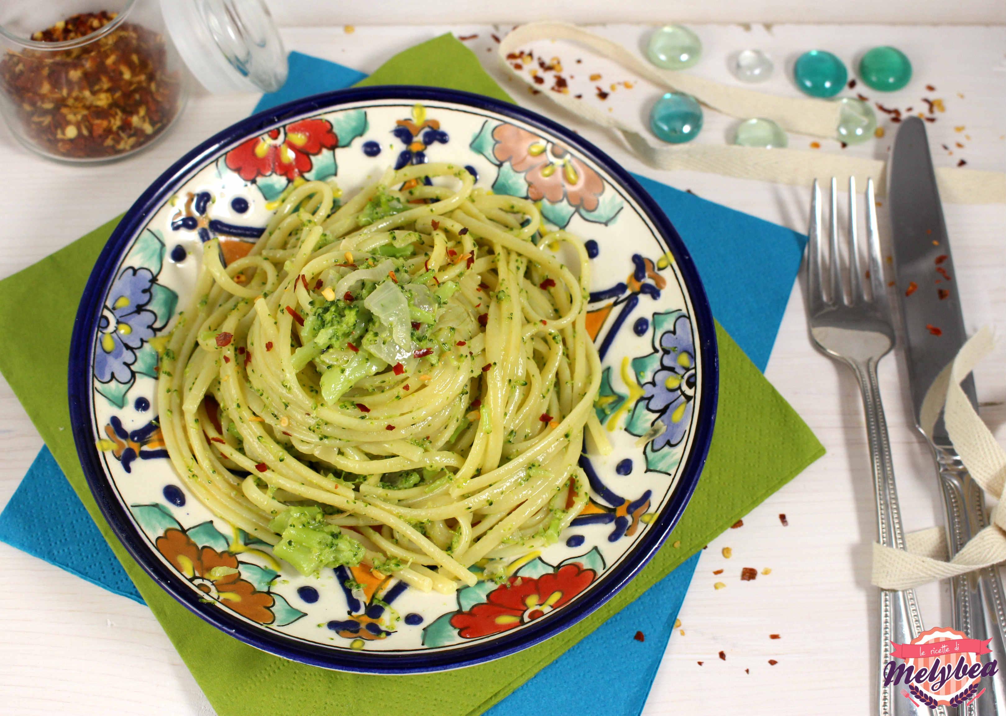 pasta con broccoli saporita