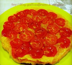tatin di pomodorini e cipolle ipiccy