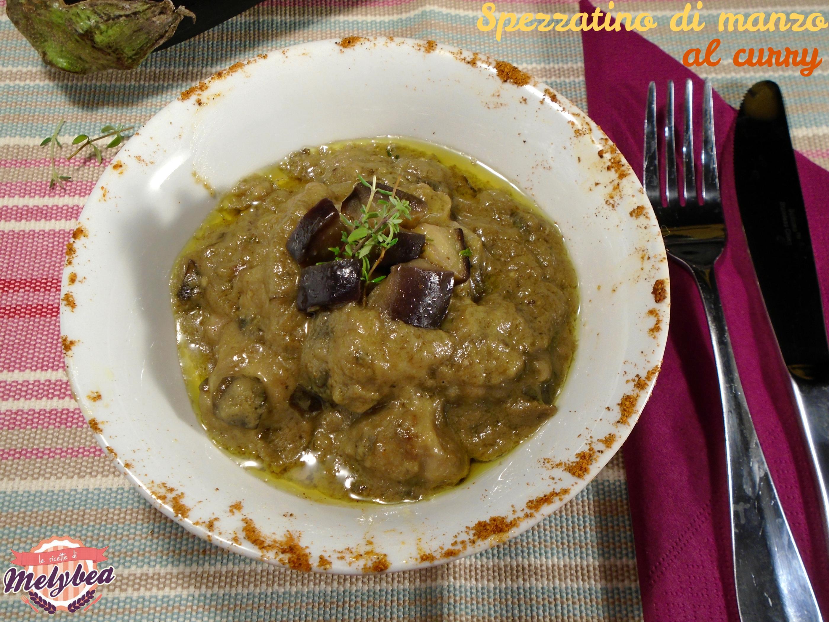 spezzatino di manzo al curry