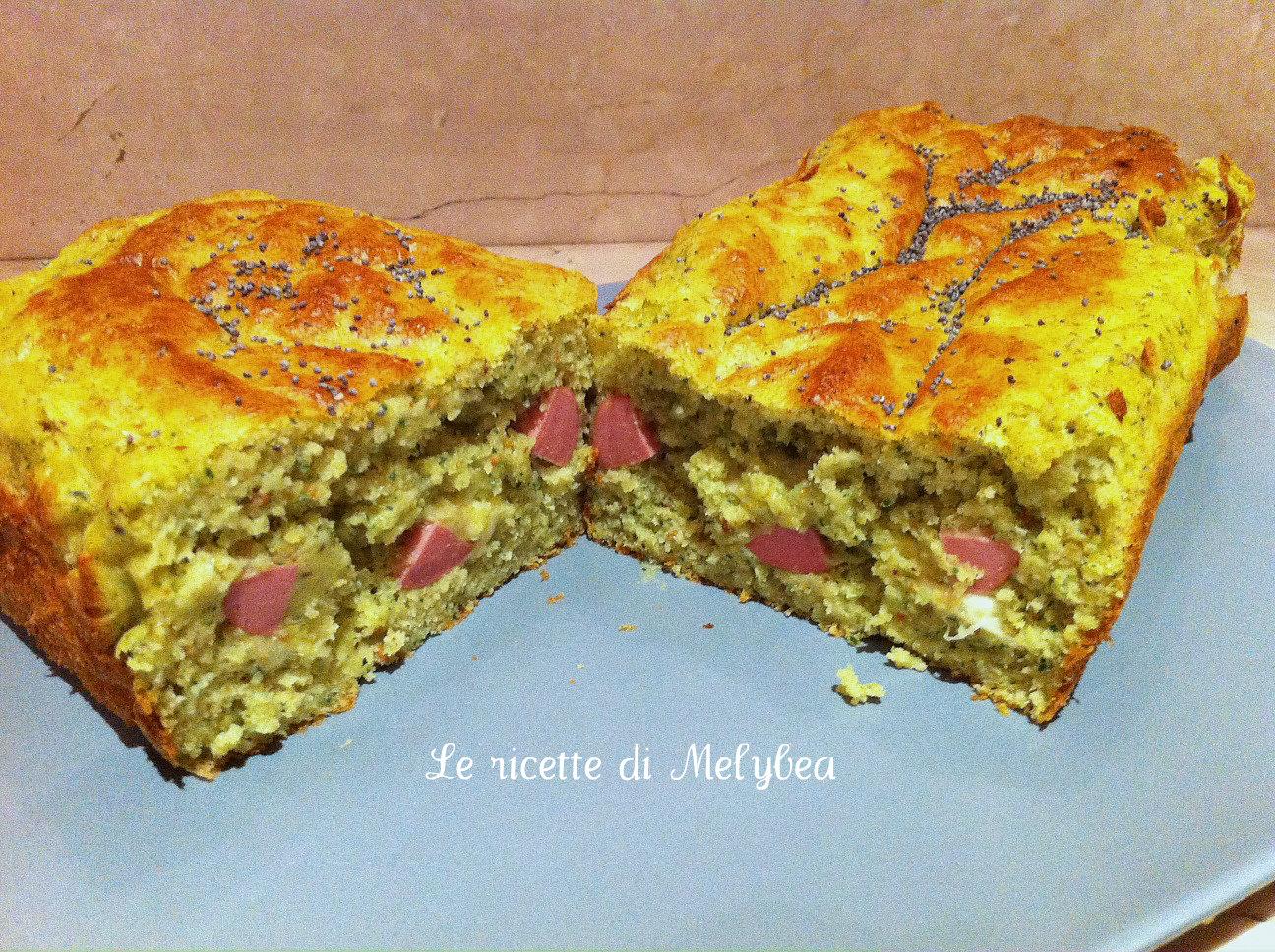 plum cake alle zucchine e pistacchi