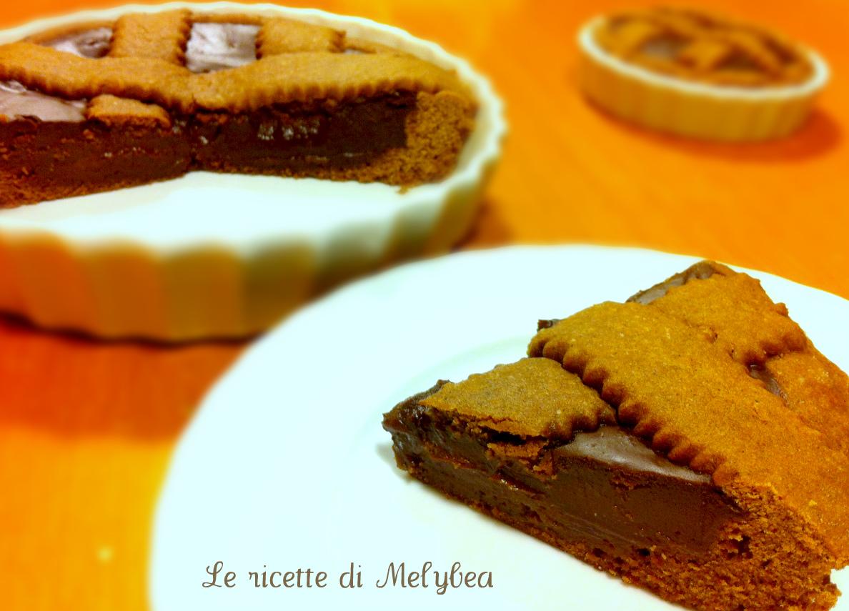 Crostata al cioccolato cioccolatosa