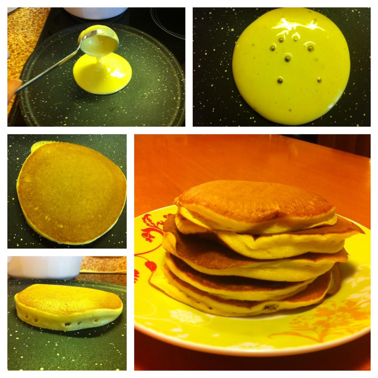 pancakes procedimento