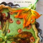 torta di gamberi e zucchine