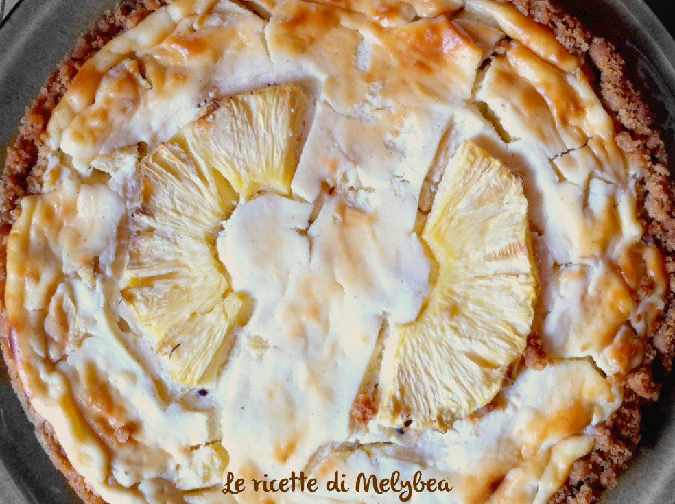 cheesecake ananas e ricotta