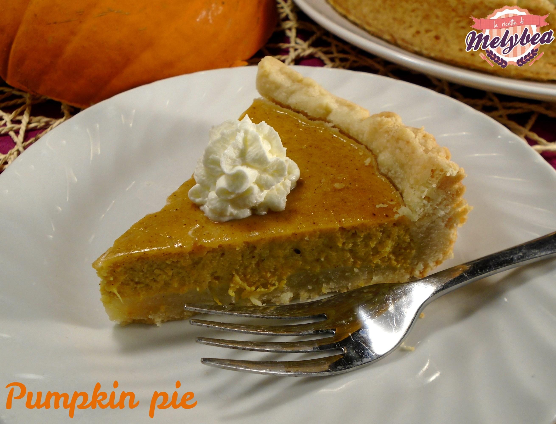 torta di zucca . pumpkin pie