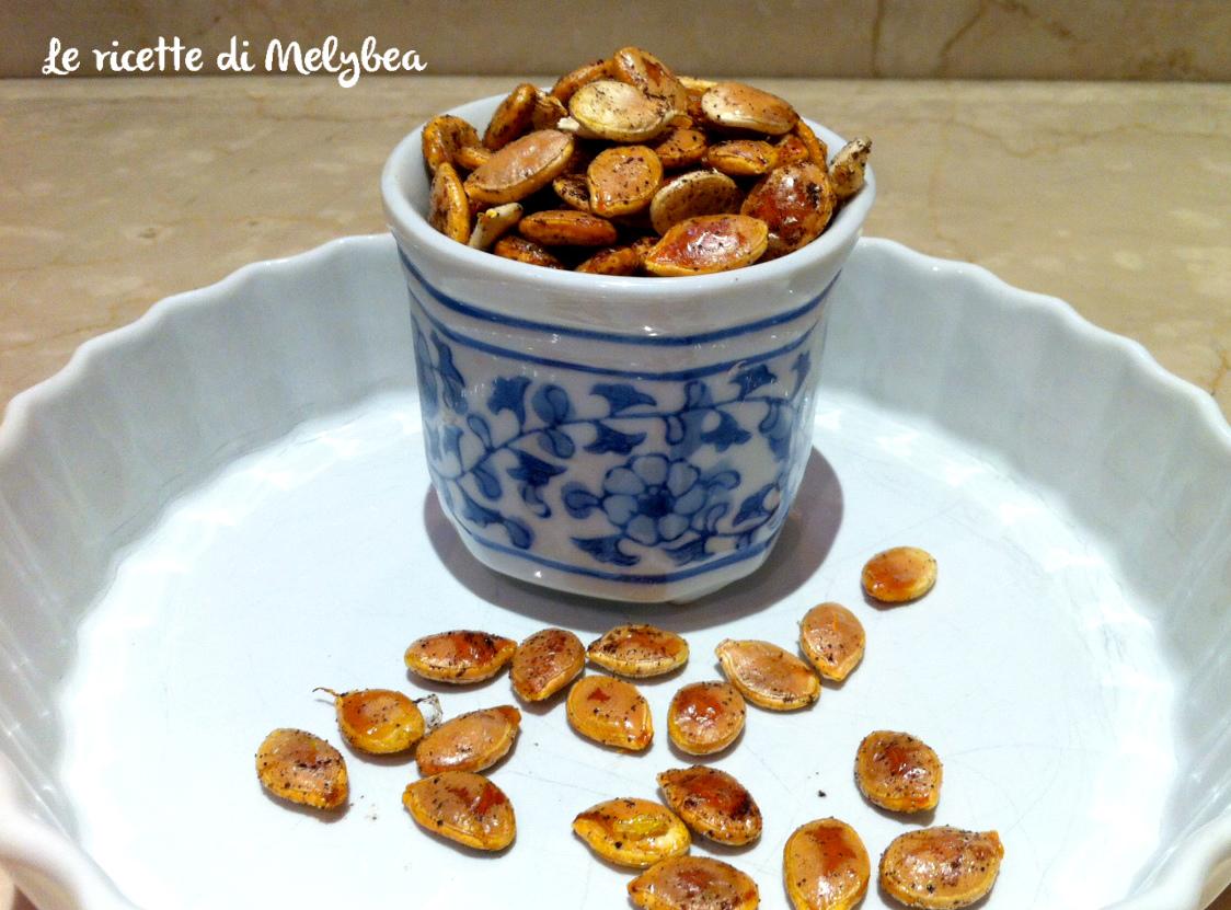 semi di zucca al forno