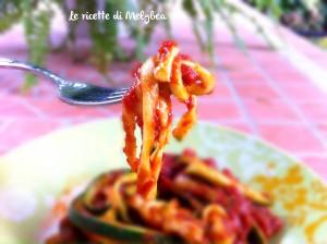spaghetti finti di zucchine