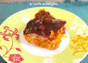 lasagne alla zucca e speck