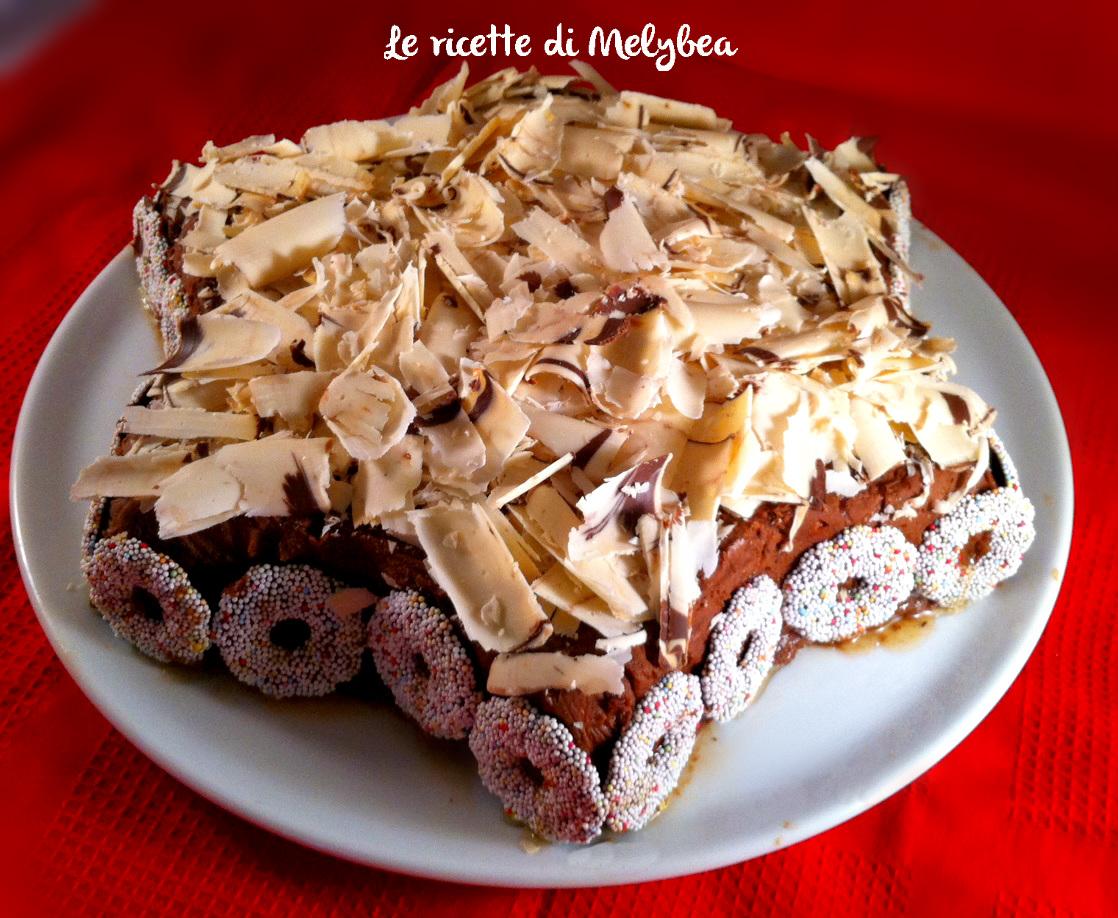 Torta A Forma Di Stella Di Natale.Stella Di Natale Al Cioccolato Le Ricette Di Melybea