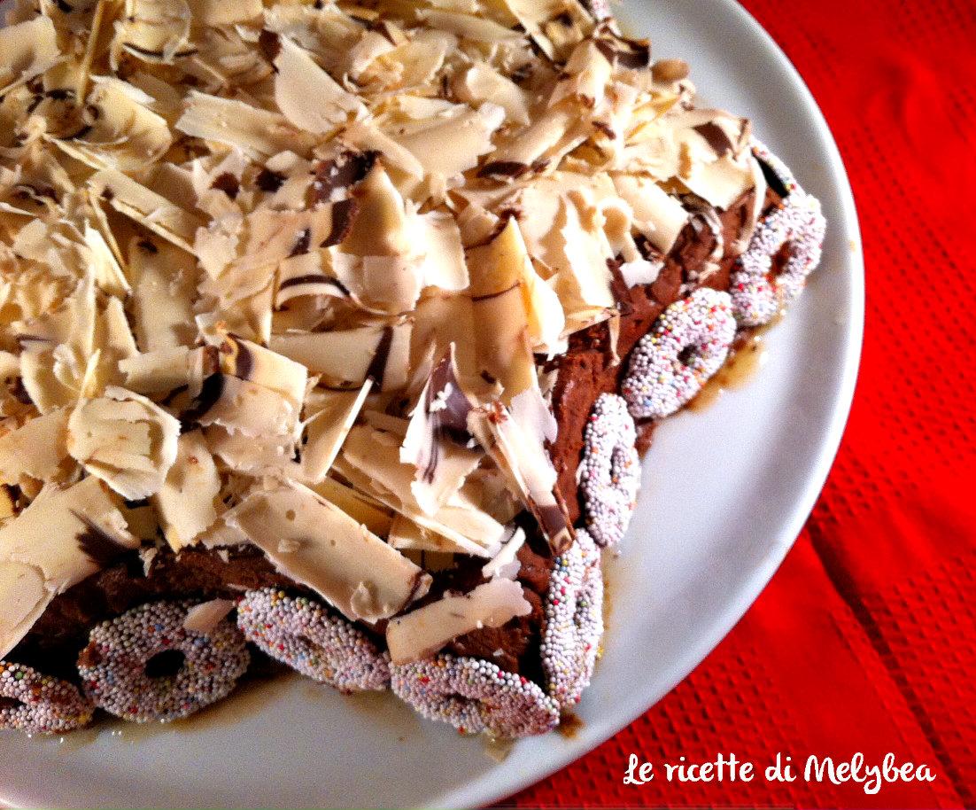 Stella di Natale al cioccolato